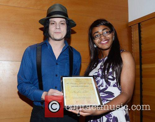 jack white is presented with the james 4152474