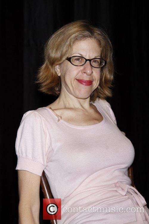 During rehearsals for 'Jackie Hoffman's A Chanukah Charol'...