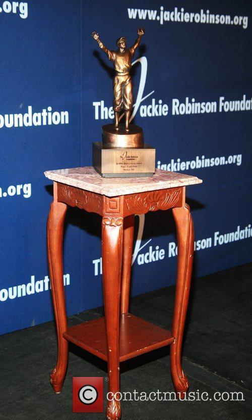 Atmosphere 2012 Jackie Robinson Foundation awards dinner at...