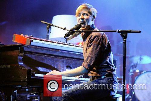 Andrew McMahon of Jack's Mannequin performs live at...