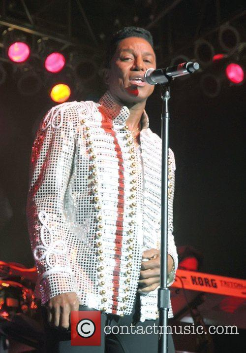 Jermaine Jackson  performing live during The Jacksons...