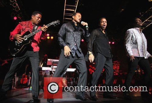 Tito Jackson, Jackie Jackson and Jermaine Jackson 4