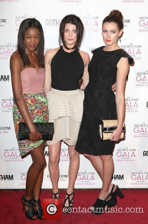 Betty Adewole, Milly Simmonds, Abella Duncan,  at...