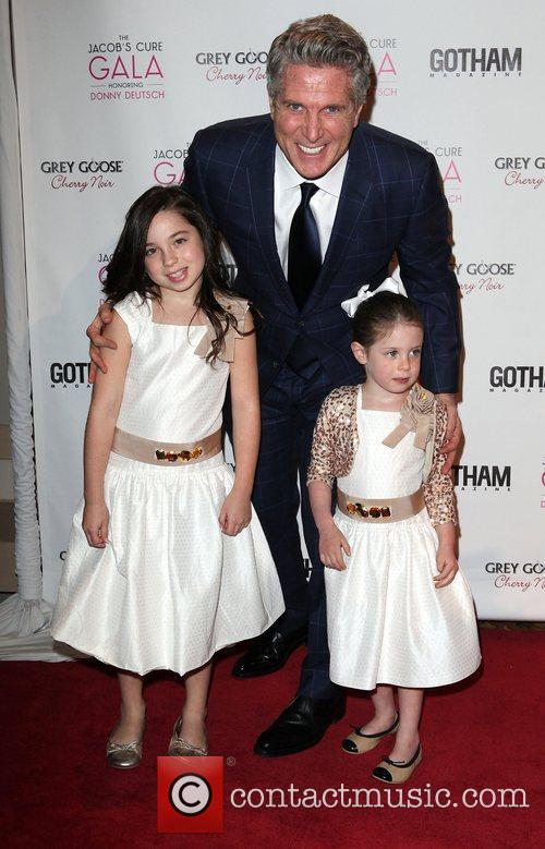 Donny Deutsch, and his two daughters,  at...