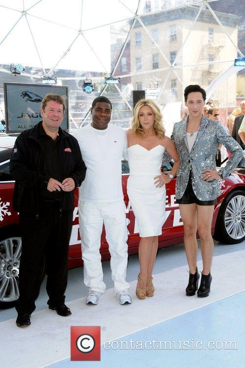 Tracy Morgan, Jane Krakowski and Johnny Weir 2