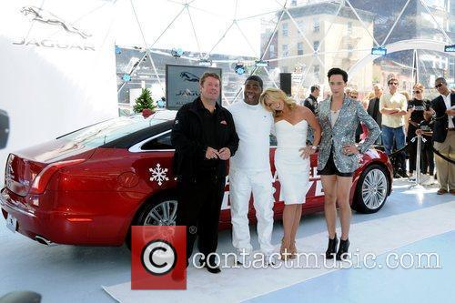 Tracy Morgan, Jane Krakowski and Johnny Weir 3