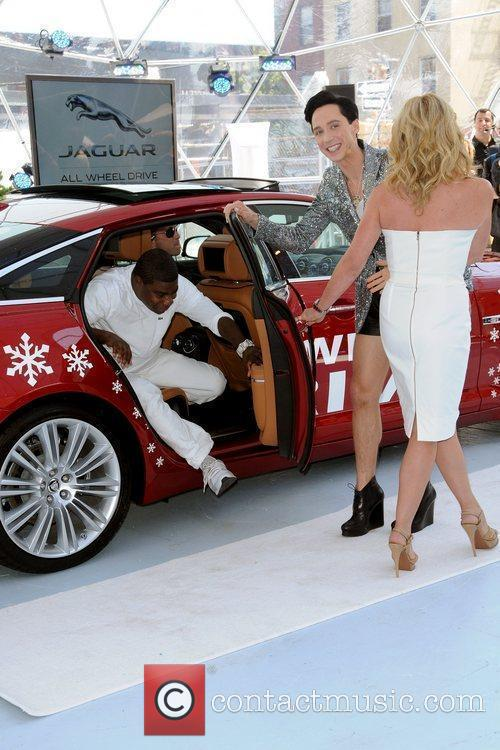 Tracy Morgan, Jane Krakowski and Johnny Weir 4