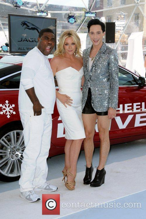 Tracy Morgan, Jane Krakowski and Johnny Weir 5