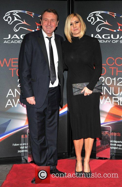 Phil Tufnell and guest Jaguar Academy of Sport...