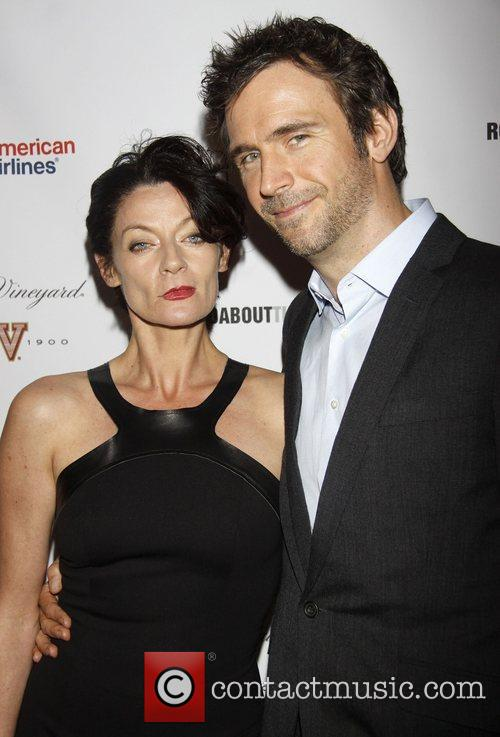 Michelle Gomez, Jack Davenport Opening, Off-broadway, If There Is I, Haven't Found It Yet, Laura Pels Theatre. New and York City