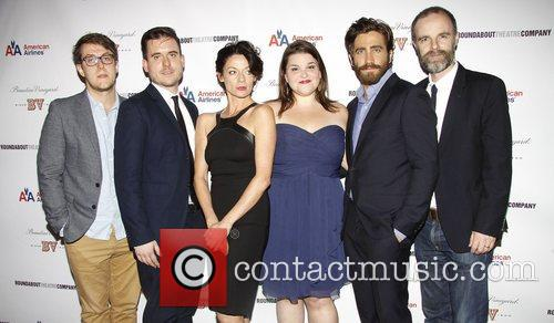 Nick Payne, Michael Longhurst, Michelle Gomez, Annie Funke, Jake Gyllenhaal, Brian F. O, Byrne Opening, Off-broadway, If There Is I, Haven, Found It Yet, Laura Pels Theatre. New and York City 2