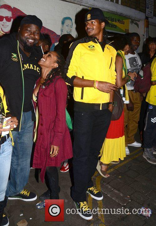 Gyptian Celebrities attend a party at Brick Lane's...