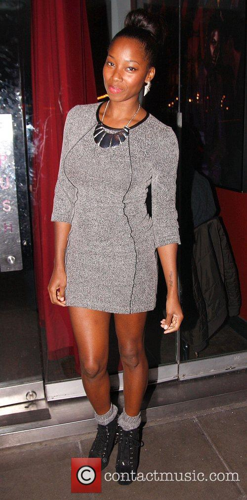 Jamelia, Jamelia Davis, The Voice, Ireland, Balans Restaurant, Soho