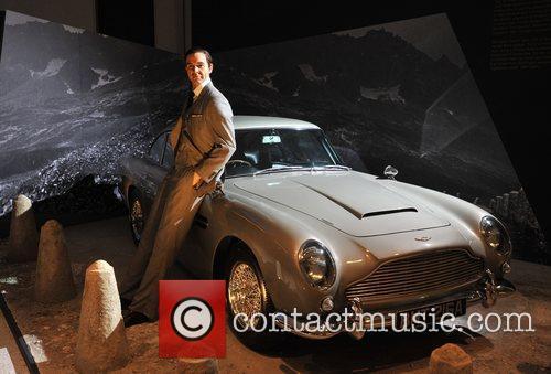 Aston Martin and Sean Connery 1