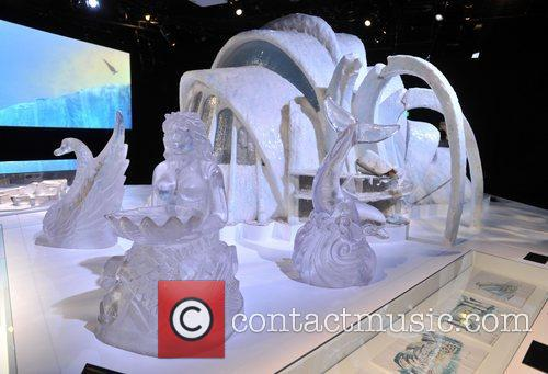 Ice Palace sculptures Designing 007 - Fifty Years...
