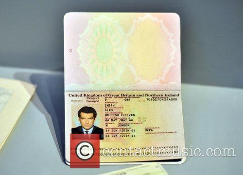 pierce brosnans 007 passport designing 007 fifty 3978155