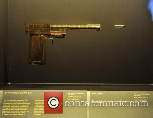 Scaramanga's Golden gun from 'The Man with the...