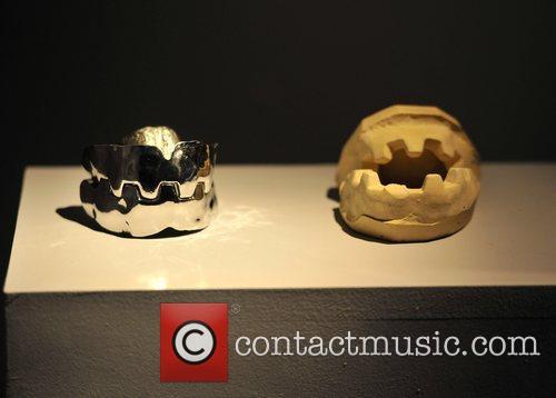 Steel teeth from 'Moonraker', 1979 Designing 007 -...