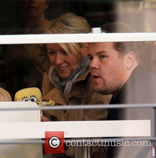 Newlyweds James Cordon, Julia Carey, Max, North London. The, At, Corden and Spongebob Squarepants 49