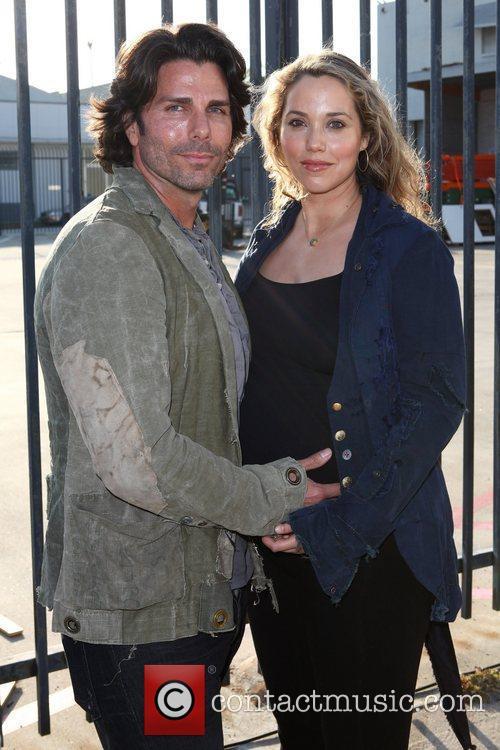 Elizabeth Berkley and Greg Lauren 1