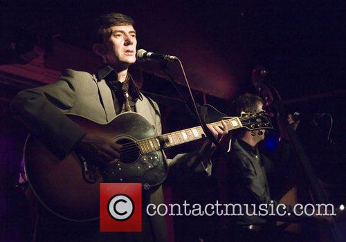 James Grant performs live at Oran Mor Glasgow,...