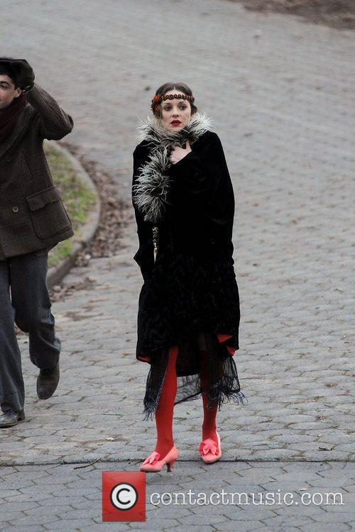 Marion Cotillard filming Untitled James Gray Project on...