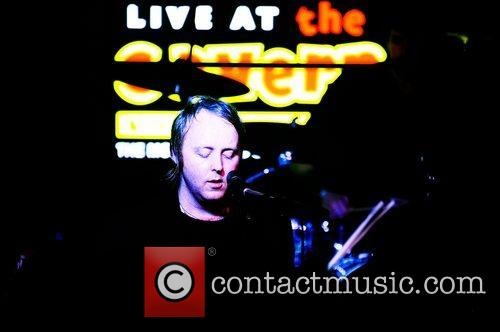 James McCartney oerforming at the Cavern