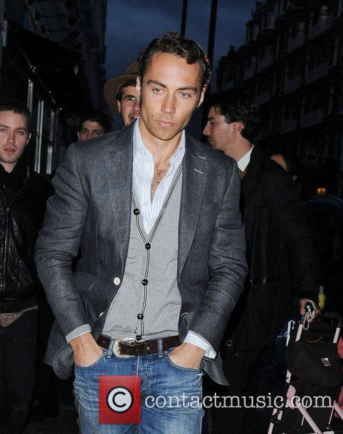 James Middleton attends Polo Life launch party held...