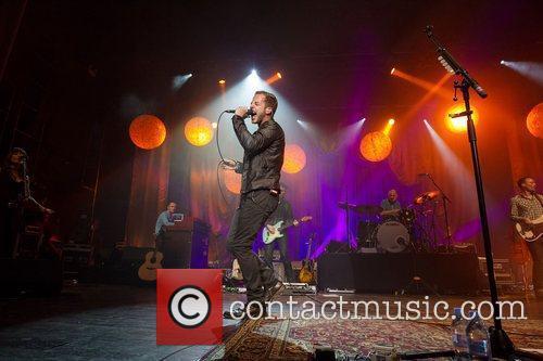 James Morrison performing live at Coliseu dos Recreios....