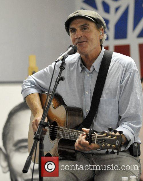james taylor visits the organising for america 4081266