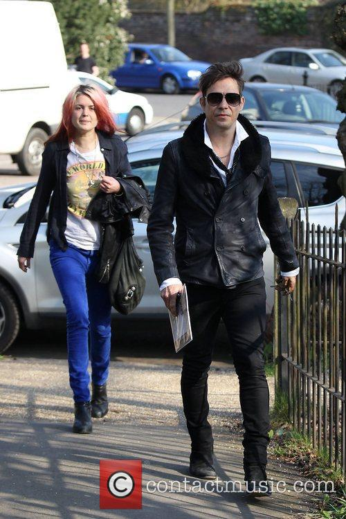 Alison Mosshart, Jamie Hince and The Kills