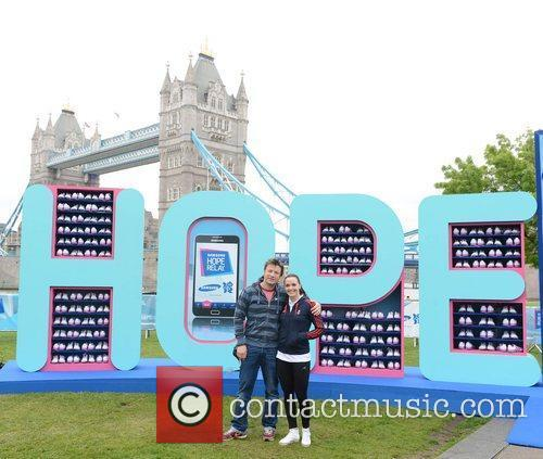 Jamie Oliver and Victoria Pendleton The Samsung Hope...