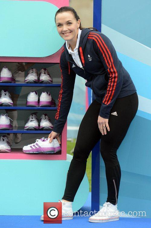Victoria Pendleton The Samsung Hope Relay Launch at...