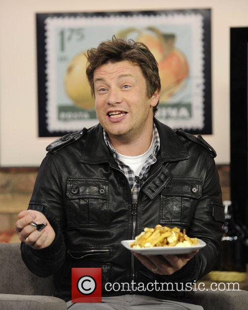 Jamie Oliver Eating