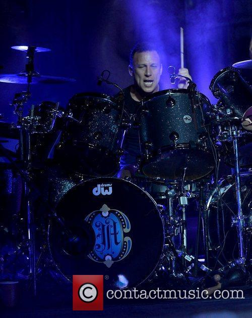 Stephen Perkins of Jane's Addiction performs at Fillmore...