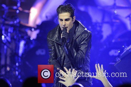 Jane's Addiction performing on stage at Massey Hall...