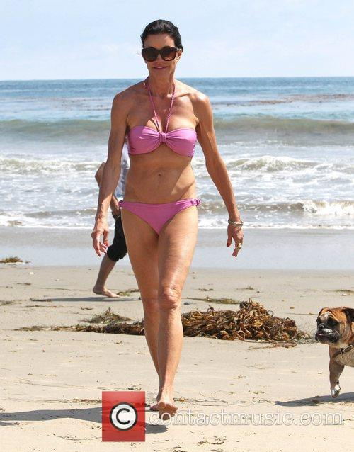 Janice Dickinson and Malibu Beach 4