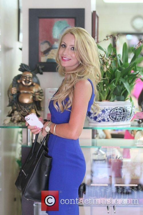 Model, Raylene at Beverly Hills Nail Design to...