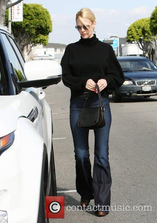 January Jones out and about in West Hollywood...