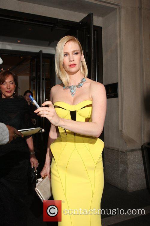 'Mad Men' actress January Jones seen exiting her...