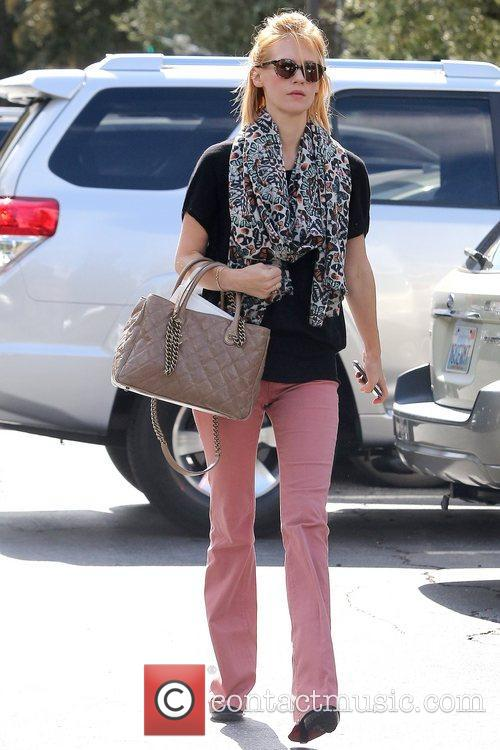 January Jones seen out and about after having...