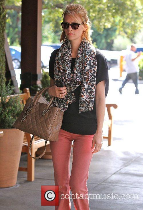 January Jones visits the Whole Foods store in...