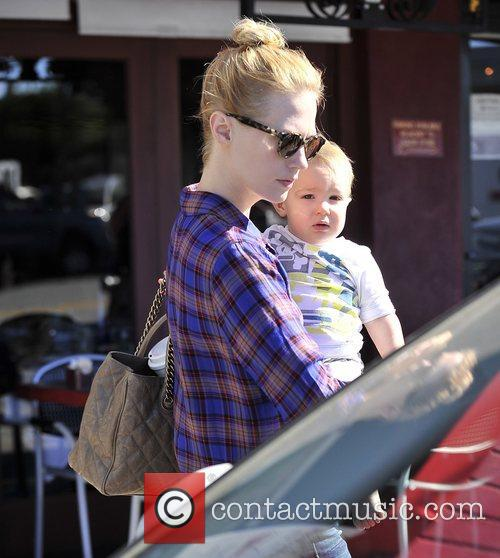 January Jones, Xander, Hollywood