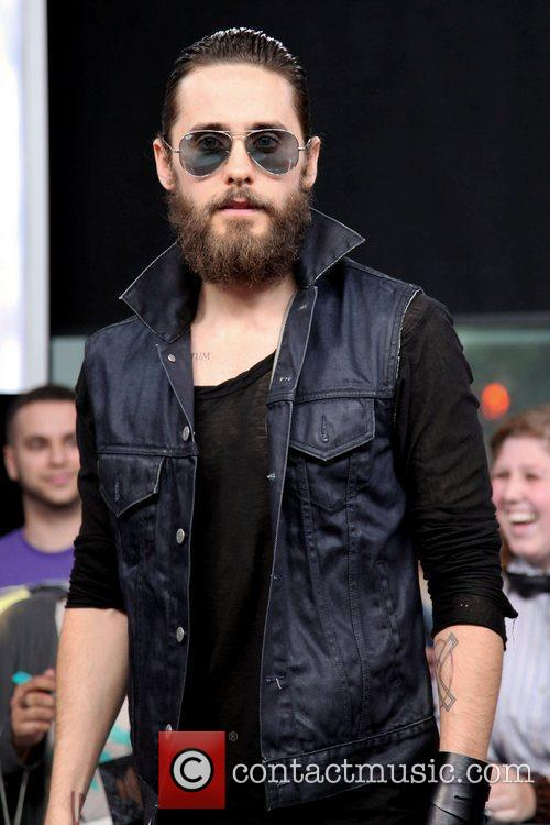 Jared Leto appears on Much Music's 'New.Music.Live.' Toronto,...