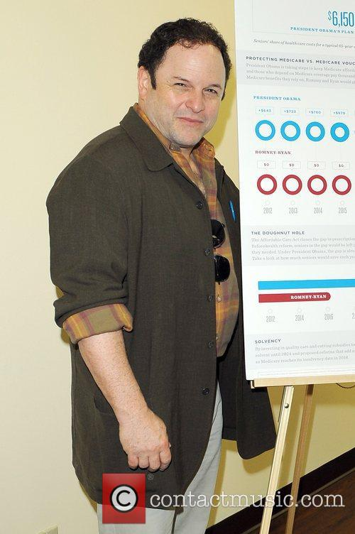 Actor Jason Alexander, Obama For America Florida, Medicare Round Table and Mae Volen Center 16