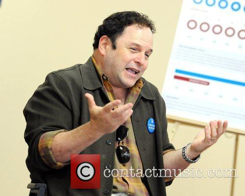 Actor Jason Alexander, Obama For America Florida, Medicare Round Table and Mae Volen Center 13