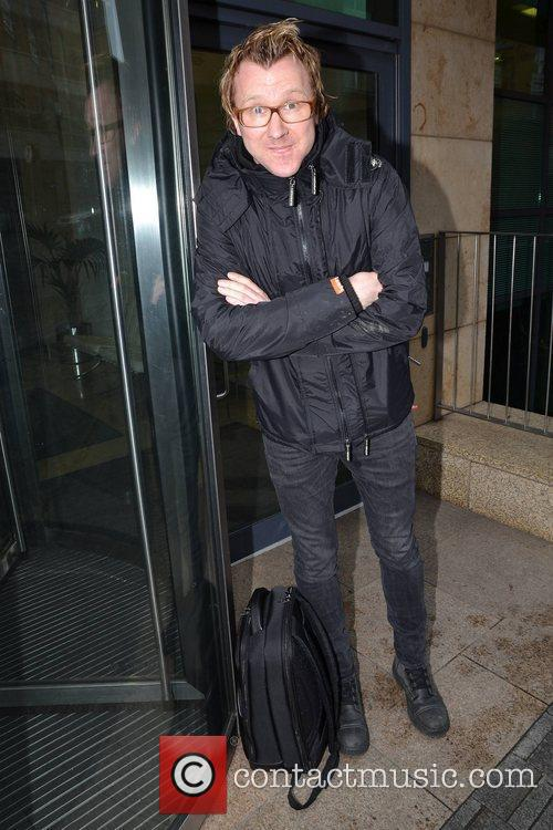Comedian Jason Byrne arrives at his first day-on-the-job...