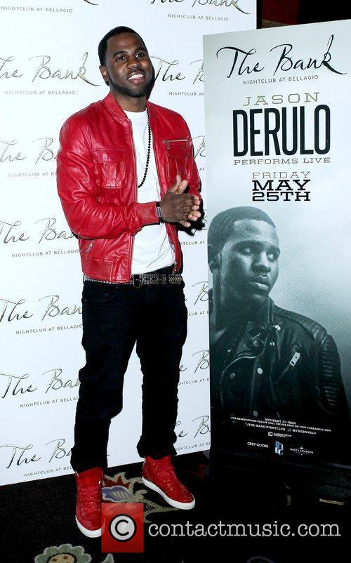 Jason Derulo and The Bank nightclub 1