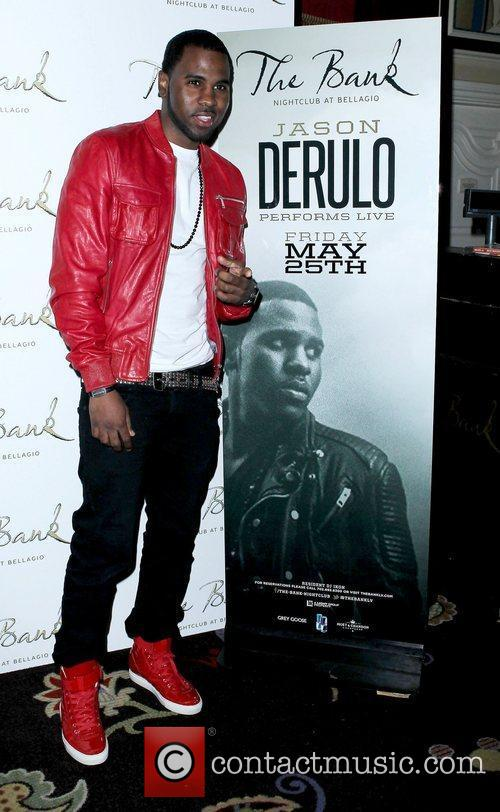 Jason Derulo and The Bank nightclub 4