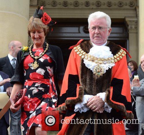 Mayor of Bolton Olympic gold medal cyclist Jason...